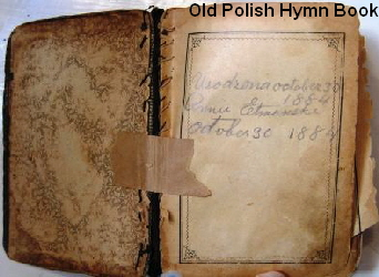 Old Polish Hymn Book